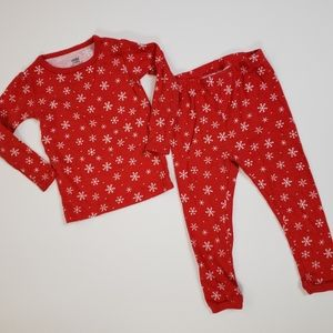 [Carter's] 18 Month Cotton Snowflake Pajama Set